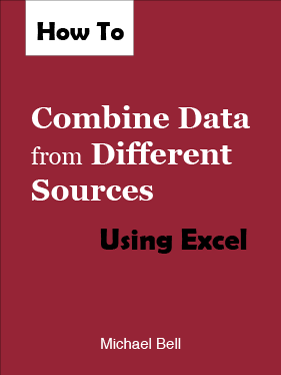eBook cover image: How to Combine Data from Different Sources Using Excel